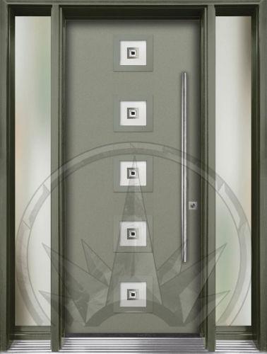 8x8 glass door