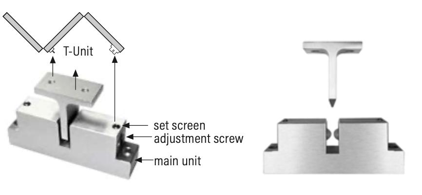 Rail n Stile Bi-Fold Doors T-Unit