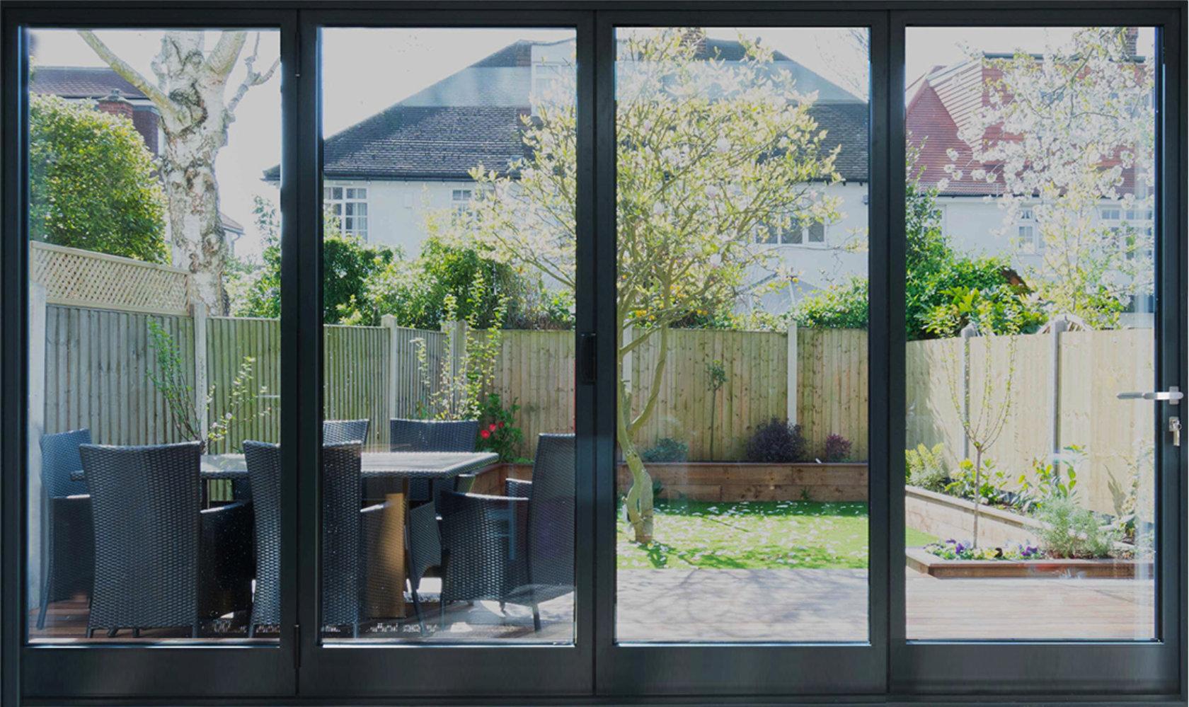 Rail n Stile Bi-Fold Doors 4 panels