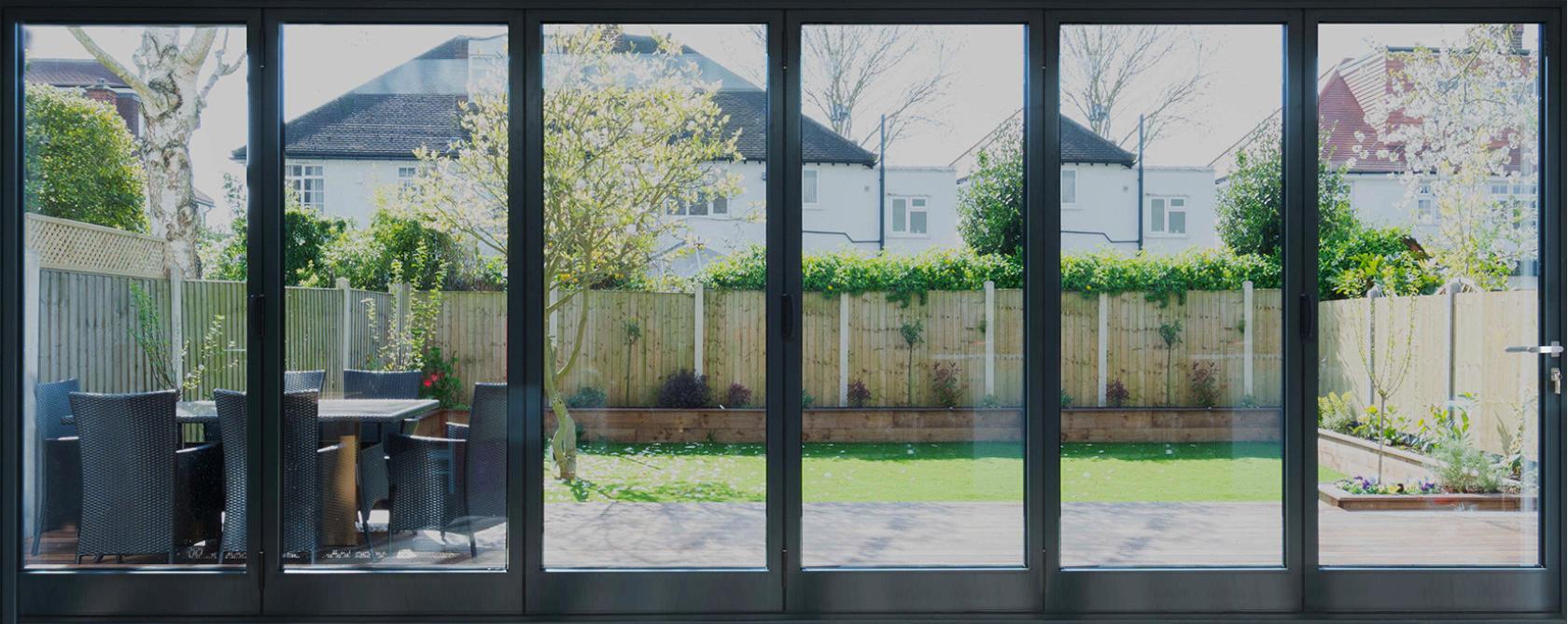 Rail n Stile Bi-Fold Doors 6 panels