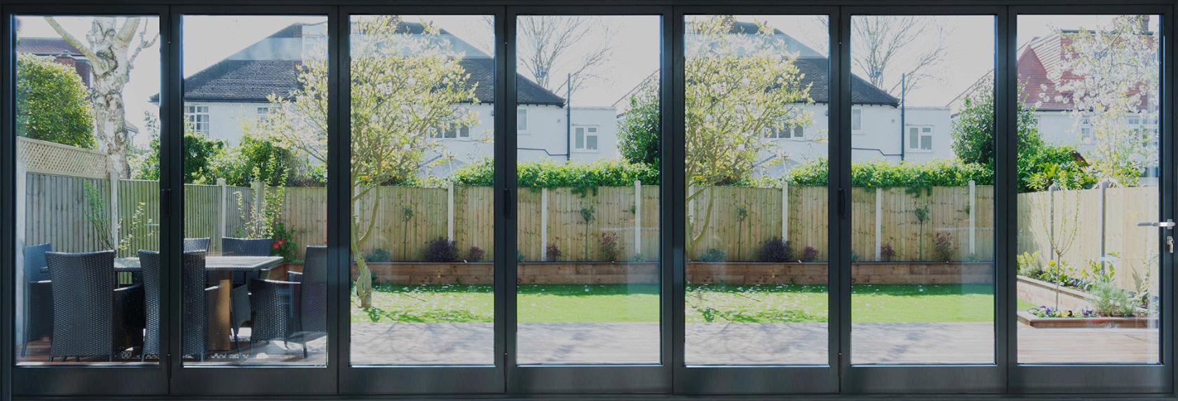 Rail n Stile Bi-Fold Doors 7 panels